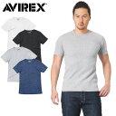 AVIREX アビレックス デイリーウエア 6173313 S/S サーマル クルーネック Tシャツ