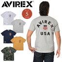 今だけ15%OFF◆AVIREX アビレックス 6163363 シグネチャー ヴァーシティーTシャツ