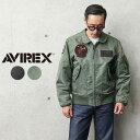 【あす楽】AVIREX アビレックス 6102208 CWU-36/P VX-31 フライトジャケット【クーポン対象外】|ミリタリージャケット ブルゾン メンズ アウター おしゃれ 大きいサイズ ロゴ