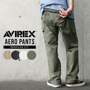 AVIREX アビレックス 6166112 AERO PANTS エアロ カーゴパンツ レギュラーフィット