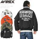 AVIREX アビレックス 6192176 AMC MA-1 MOD フライトジャケット HALO【クーポン対象外】