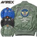 【あす楽】AVIREX アビレックス 6102136 LIGHT MA-1 フライトジャケット B-2 SPIRIT 春 夏【キャッシュレス決済で5%還元】