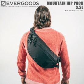 EVERGOODS エバーグッズ MOUNTAIN HIP PACK 3.5L マウンテンヒップパック / スリングバッグ