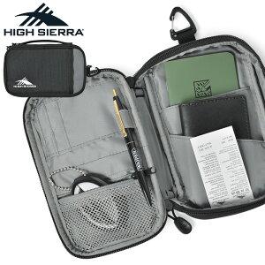 【18%OFFクーポン対象】【あす楽】バッグ メンズ / HIGH SIERRA ハイシェラ 90741 MULTI CASE S(マルチケース S)パスポートケース / ショルダーバッグ ウエストバッグ カバン 鞄 アウトドア ミリタリ
