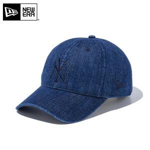 今なら10%OFF☆【メーカー取次】NEW ERA ニューエラ 9TWENTY Cloth Strap ウォッシュドコットン ニューヨーク・ヤンキース インディゴデニム 11434004 キャップ / 帽子 キャップ シリーズ メジャーリー