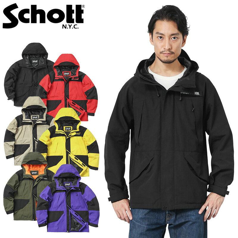 Schott ショット 3182013 2TONE フィールドパーカ / マウンテンパーカ ブランド WIP メンズ ミリタリー【クーポン対象外】【父の日ギフト プレゼントに】