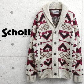 【あす楽】Schott ショット 45990 SW1948 ナバホ カーディガン【クーポン対象外】 秋 冬 プレゼント