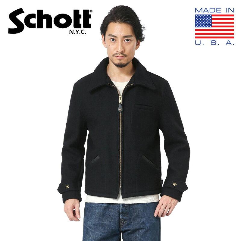 Schott ショット 7176 716 WOOL CPOジャケット / ミリタリージャケット ウールジャケット ブルゾン スタッズ WIP メンズ ミリタリー アウトドア【新生活 新学期 買い替えに】【クーポン対象外】