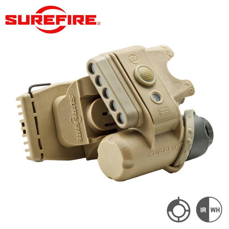 SUREFIRE シュアファイア HL1 Variable-Output LEDヘルメットライト / フラッシュライト【クーポン対象外】 LEDライト 取り付けタイプ 連結器具 WIP メンズ ミリタリー アウトドア【父の日ギフト プレゼントに】
