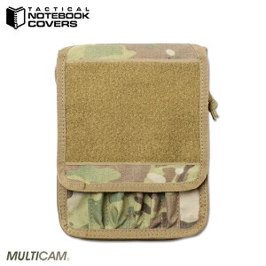 【15%OFFクーポン対象】【あす楽】ミリタリー ポーチ / TACTICAL NOTEBOOK COVERS タクティカルノートブックカバー 2030 Tactical Notebook Cover (タクティカルノートブックカバー)MultiCam WIP メンズ ミリタ