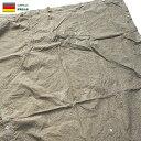 25%OFFクーポン対象◆ ミリタリー 実物 東ドイツ NVA テントシェル レインドロップカモ USED フライシート パップテ…