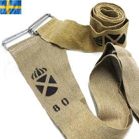 25%OFFクーポン対象◆実物 新品 スウェーデン軍 リネンスパンベルト WIP メンズ ミリタリー アウトドア【海も山も!レジャーシーズン到来】