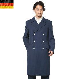 今なら71%OFF★実物 ドイツ軍エアフォース ブルーオーバーコート WIP メンズ ミリタリー アウトドア【海も山も!レジャーシーズン到来】【クーポン対象外】