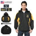 店内20%OFF開催中◆米軍オフィシャルライセンス リバーシブル エンブレム ジャケット