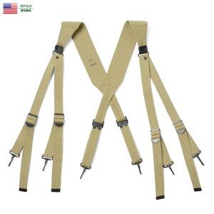 【15%OFFクーポン対象】新品 米軍 WWII EQUIPMENT M1936 コットンサスペンダー WIP メンズ ミリタリー 夏 敬老の日