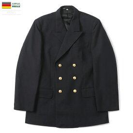 【即納/あす楽】実物 USED ドイツ軍 NAVY メンズ ブレザー ジャケット キャッシュレス 5%還元 新生活応援 衣替え【Sx】