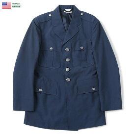 実物 新品 米軍 U.S.AIR FORCE ブルーシェード TROPICAL ユニフォーム ドレスジャケット キャッシュレス 5%還元