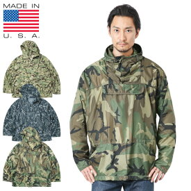 MADE IN USA MILITARY アノラックパーカー【クーポン対象外】 キャッシュレス 5%還元【クリスマス プレゼント ギフト】