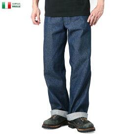 25%OFFクーポン対象◆実物 USED イタリア軍 デニムワークパンツ 実物放出品 ミリタリーサープラス WIP メンズ ミリタリー アウトドア