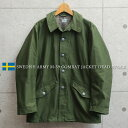 ミリタリージャケット メンズ / 実物 新品 デッドストック スウェーデン軍 M-59 フィールドジャケット【クーポン対象…