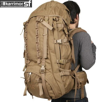 karrimor SF carimaspecialforce Sabre 60-100 bag COYOTE long-term action can be large bags military delivery line authentic school mountaineering bags WIP