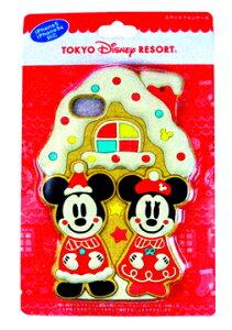 ディズニーリゾート 2014クリスマス「お菓子なクリスマス」 ミッキー&ミニー柄のiPhoneケース