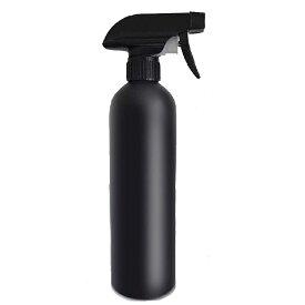 【送料無料】ブラック スプレーボトル 遮光  500ml 黒    次亜塩素酸水 に最適  アルコール 対応 大容量 蓄圧式 ミストスプレーボトル 化粧水 エクセレント 除菌剤・殺菌剤 メイク 霧吹き 雑貨 水やり