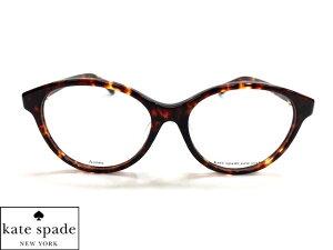 【KILEEN/F-086】 spade ケイトスペード 眼鏡 メガネ フレームブラウンデミ レディース ラウンド ボストン KILEENF-086