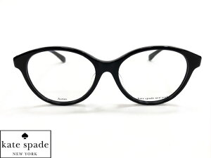 【KILEEN/F-807】 spade ケイトスペード 眼鏡 メガネ フレームブラック レディース ラウンド ボストン KILEENF-807