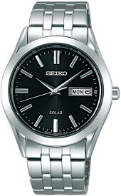 【SBPX083】 シルバー/ブラックSEIKO セイコーウオッチ 腕時計 SPIRIT スピリットソーラー ステンレス メンズ 日付表示 曜日表示
