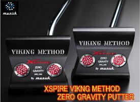 【NEW・送料無料】ムジーク Muziik XSPIRE Viking Method PUTTER バイキングメソッド パター 新品!