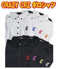 【激レア】クレイジ— CRAZY CRZ POLO SHIRTS ポロシャツ 新品!