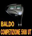 【最終処分】BALDO COMPETIZIONE 568 UT ヘッド + カスタムシャフト装着!