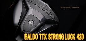 【最終処分・送料無料】バルド BALDO TTX 420ドライバー ヘッド + カスタムシャフト装着 新品!