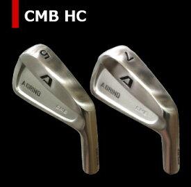 【送料無料・カスタム】A GRIND CMB HC アイアン ヘッド 5-P(6個SET)単体 + カスタムシャフト装着!