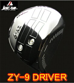 【激飛・送料無料】JBEAM ジェイビーム ZY-9 DRIVER ドライバー + カスタムシャフト装着 スペック指定 新品!!