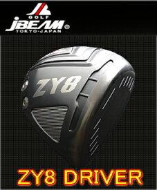 【激飛・送料無料】JBEAM ジェイビーム ZY-8 DRIVER ドライバー + カスタムシャフト装着 スペック指定 新品!!