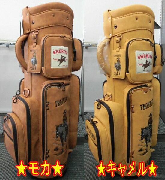 【限定・激安】シェリフ SHERIFF SFW-008 コンパクト キャディバッグ ウェスタンシリーズ カートタイプ 9型 新品!