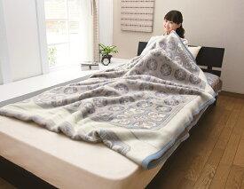 【送料無料】【日本製】ニッケ厳選 高級カシミヤ混毛布シングルサイズカシミヤ毛布(5%)掛け敷き続きの一枚もので使いかってがよく、とても暖かい毛布です。保温性・吸湿性にも優れています。カシミア毛布 Unit Blanket(AT3301k)
