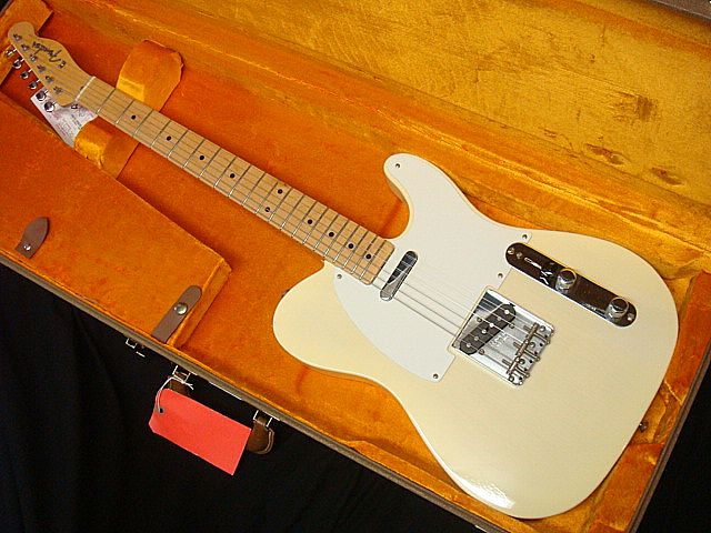 Fender USA American Vintage 58 Telecaster AWB/M フェンダー ビンテージテレキャスター【デッドストック】【アウトレット】【送料無料】