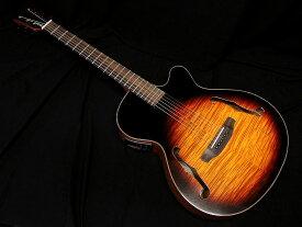 【特別カラー】ARIA FET-F2 BSG Fホールエレアコ アコースティックギター オリジナルカラー ブラウンサンバースト グロスフィニッシュ【送料無料】