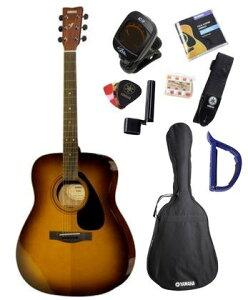 YAMAHA F-310P TBS 初心者 セット ヤマハ アコースティックギター タバコサンバースト アコギ【送料無料】【クリップチューナー、ピッチパイプ、ストリングワインダー、ピック、ストラップ、