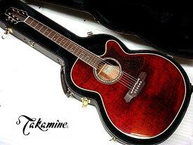 【コンタクトPU増設済】Takamine タカミネ DMP551C WR ワインレッド エレアコ【祝!楽天ランキング入賞】【新品】【送料無料】