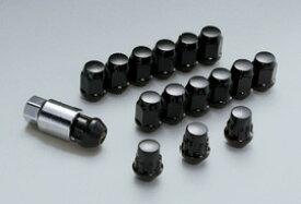 無限 ホイールナット&ロックセット ブラック [N-BOX JF3/JF4 H29/9〜] mugen 新品