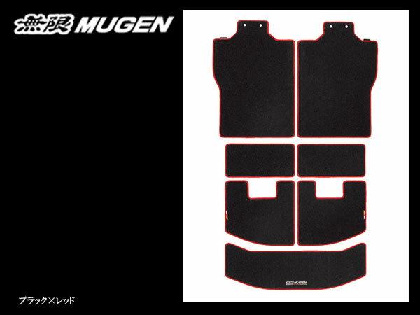 無限 スポーツラゲッジマット ブラック×レッド [N-BOX JF3/JF4 H29/9〜] mugen 新品