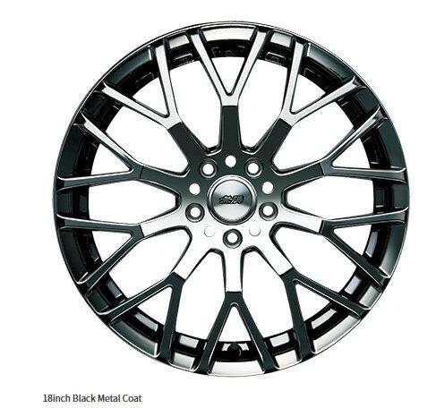 無限 ホイール XJ 18インチ ブラックメタルコート [ヴェゼル RU1/RU2/RU3/RU4 H25/12〜] mugen 新品
