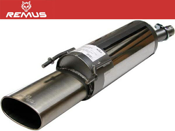 REMUS マフラー [オペル ヴィータ B XG120 1.2 16V] レムスマフラー 正規品 代引手数料無料 送料無料