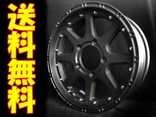 XTREME-J ブラック+ジオランダーM/T G003 185/85R16 1本 [ジムニー JB23W/JA系(JA11V/JA71V等)] エクストリーム-J フラットブラック+ヨコハマ ジオランダーM/T G003 16X5.5J+20 5/139.7 送料無料