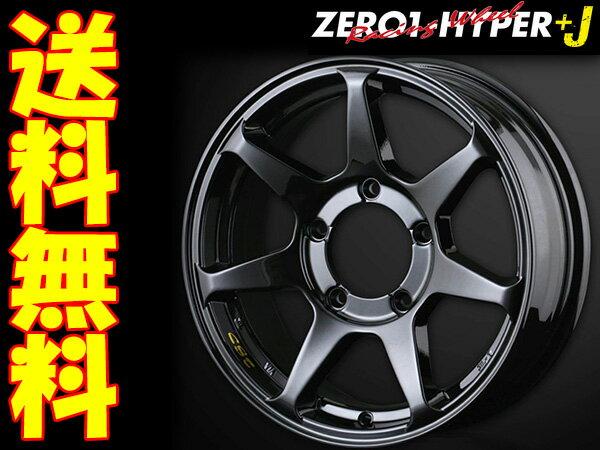 DOALL ZERO-1 Hyper+J+ジオランダーM/T+ 185/85R16 1本 [ジムニー JB23W/JA系(JA11V/JA71V等)] ゼロワンハイパープラスJ グロスブラック ヨコハマ ジオランダーM/T+ G001C RBL 16X5.5J+22 5/139.7 送料無料