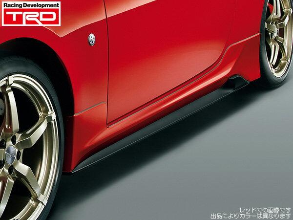 TRD サイドスカートブラック(D4S) 塗装済み [86 (ハチロク) ZN6 前期] 新品